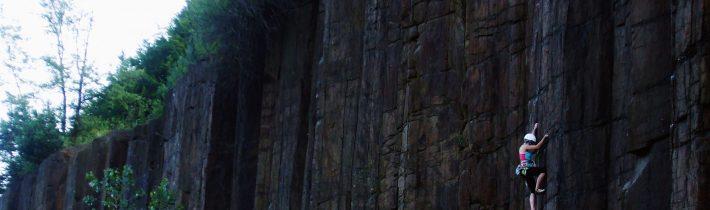 Escaladă pe coloane de andezit-Limpedea, Maramureș