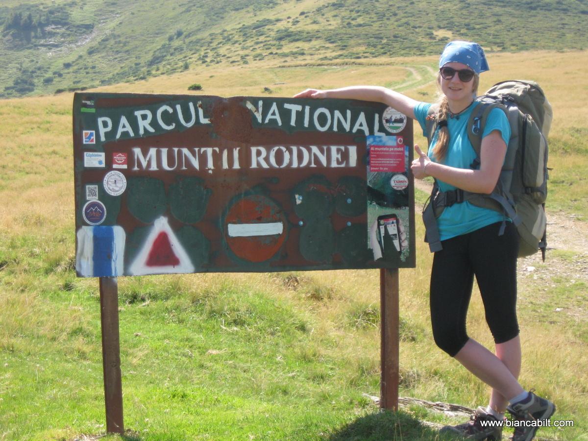 Și uită-ne intrați în parcul național munții Rodnei.