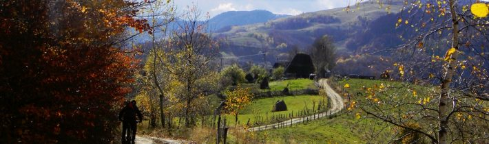 Aiudeana-Toamna târziu cu bicicletele prin Trascău