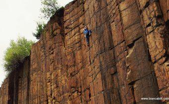 Cățărare în Maramureș (2)- Din nou pe coloanele de andezit de la Limpedea