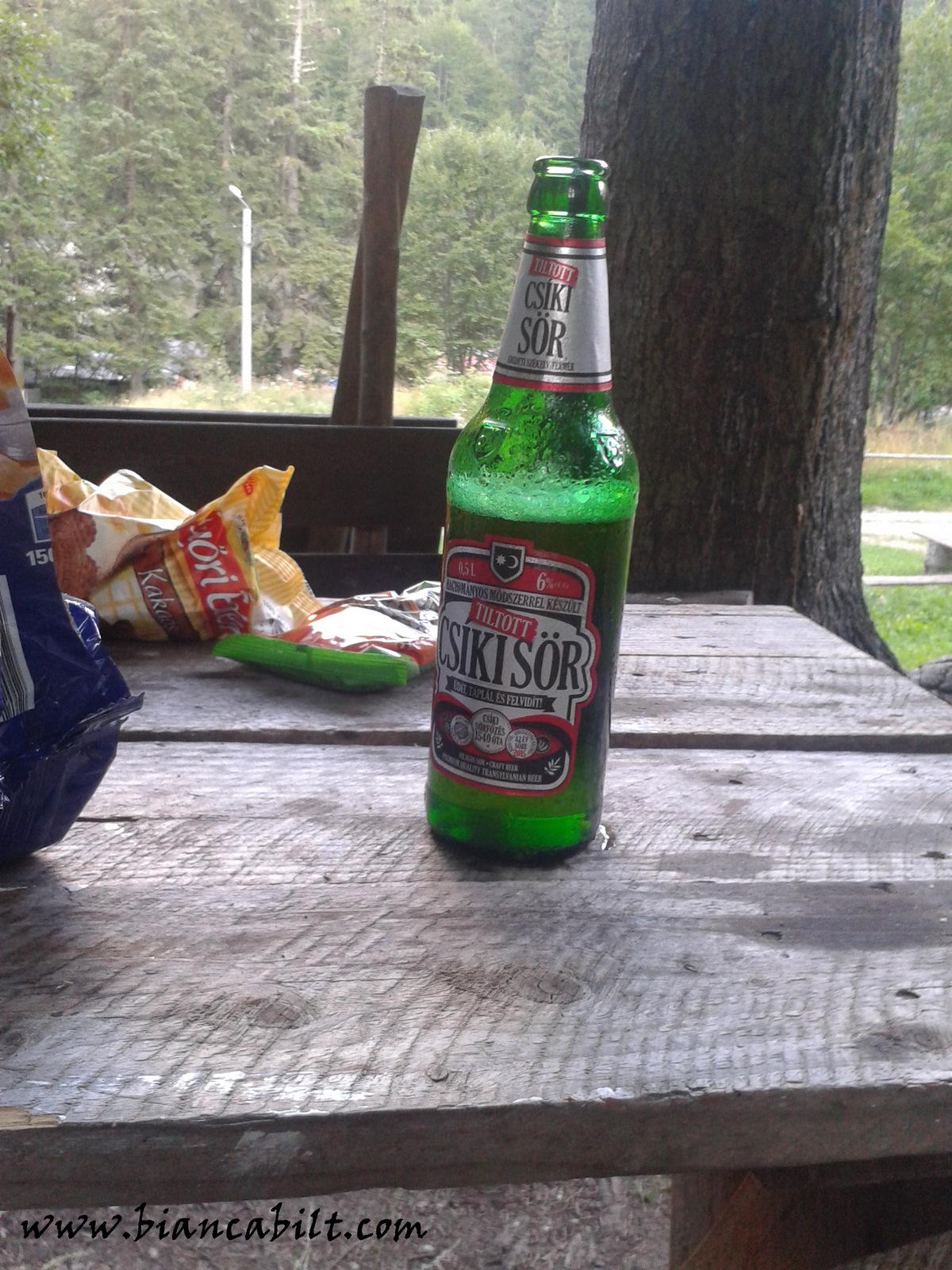 Unul dintre cele mai frumoase lucruri din viața unui cățărător: berea de după!