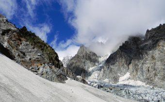 Mont Blanc pe ruta italiană (PD+)