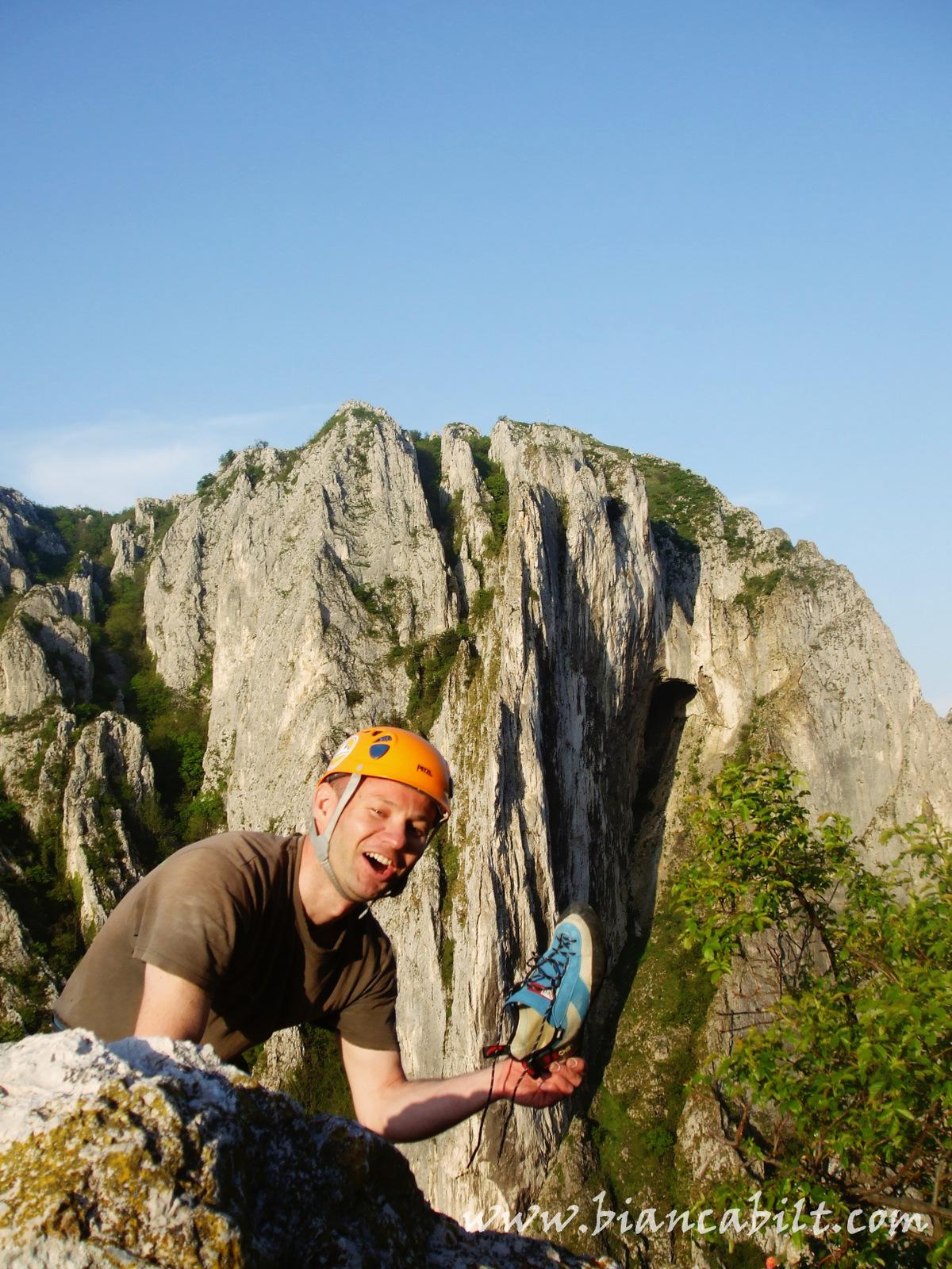 Asta este fericirea cățărătorilor :P