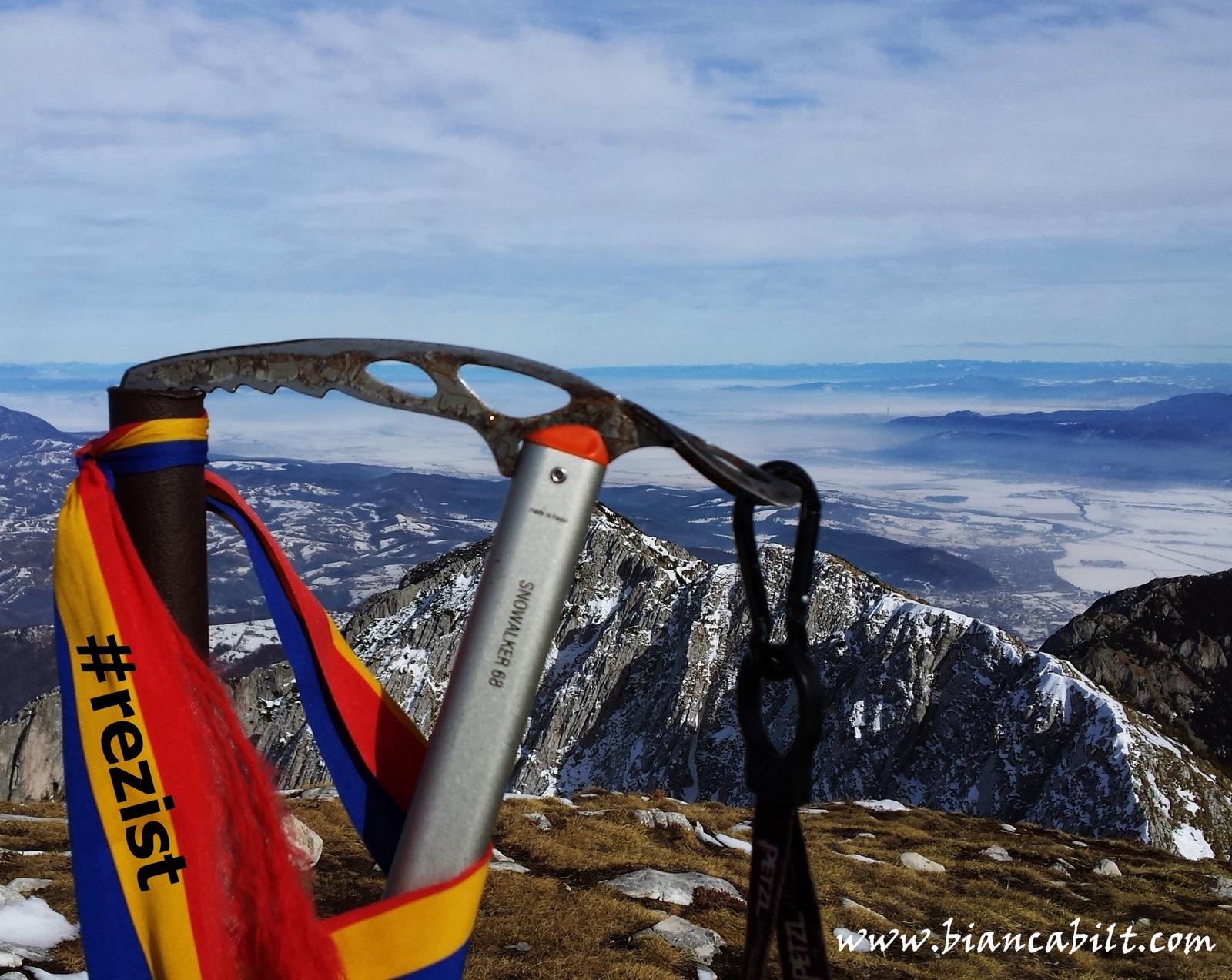 #REZIST și de pe munte!