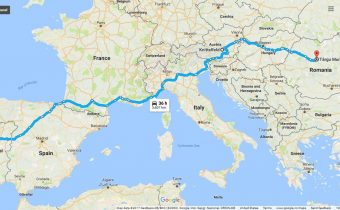 Hitchhiking trip from Portugal to Romania