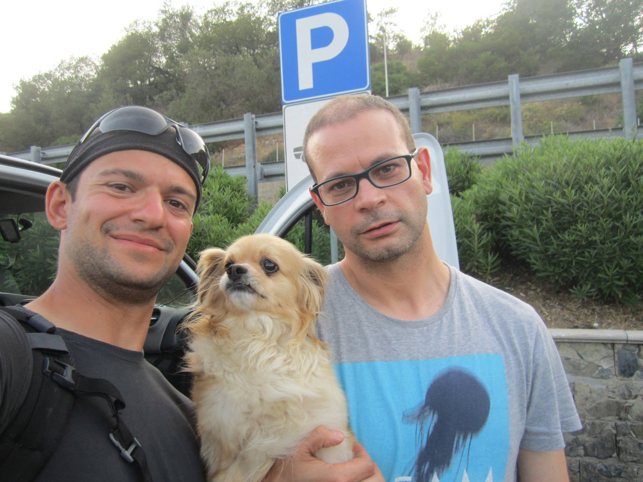 Me, Coco & Roberto. Again. I didn't have another photo. Amateur.