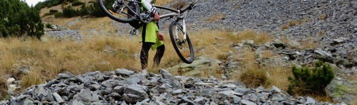 """Octombrie pe bicicletă (5): """"hike a bike"""" în Retezatul Mic, Cheile Scorota-cabana Buta"""