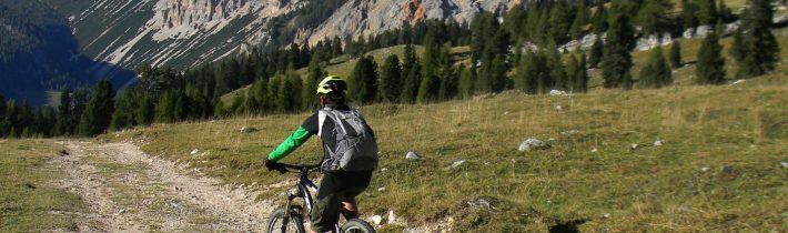 MTB în Dolomiți: relaxare spre Forecella Lerosa