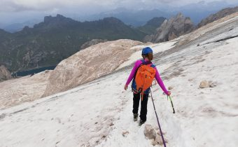 Marmolada-Punta Penia (3,343m), topul Dolomitilor-despre cum ajungi undeva peste noapte.