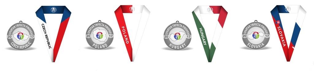 CEU Regional Medal set