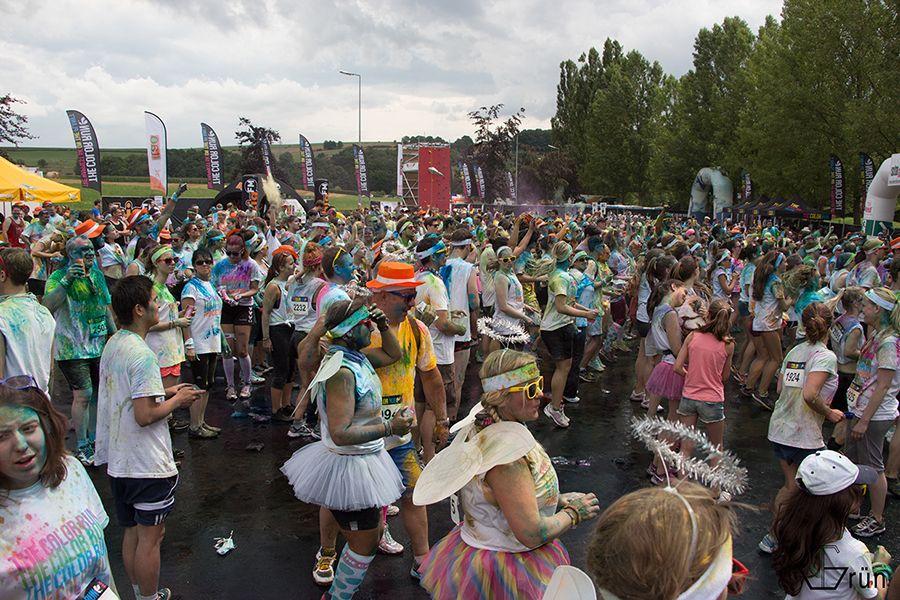 Color Run Luxembourg Echternach