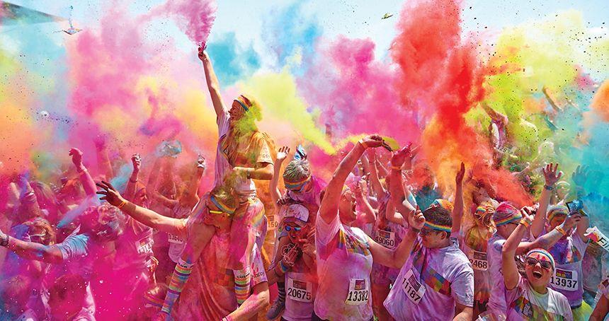 fun runs - ColorRun