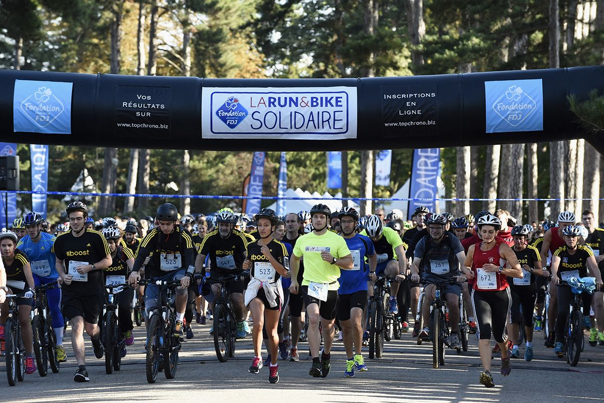 Courses Solidaires - Run&Bike Solidaire