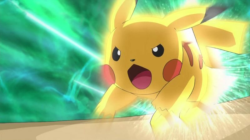 Pokémon go - pikachu-electric-run