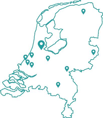 Kaart bijles scheikunde amsterdam
