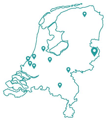 Kaart bijles scheikunde enschede