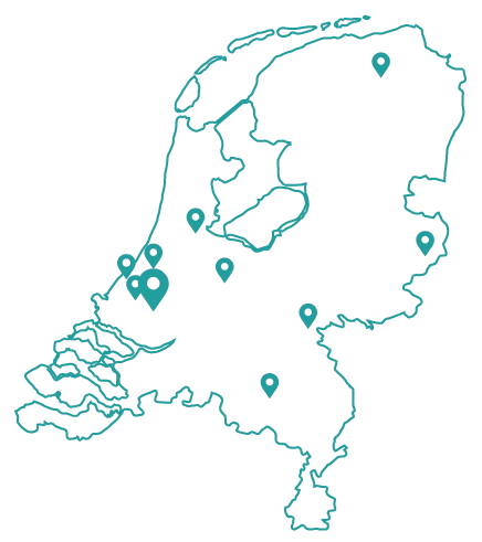 Kaart bijles rotterdam