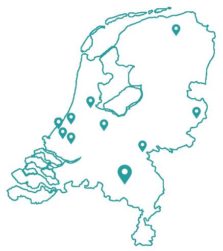 Kaart bijles eindhoven