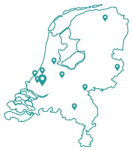 Kaart rotterdam