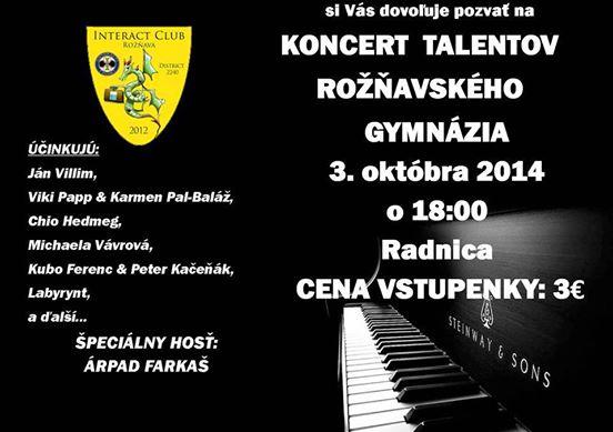 tehets koncert