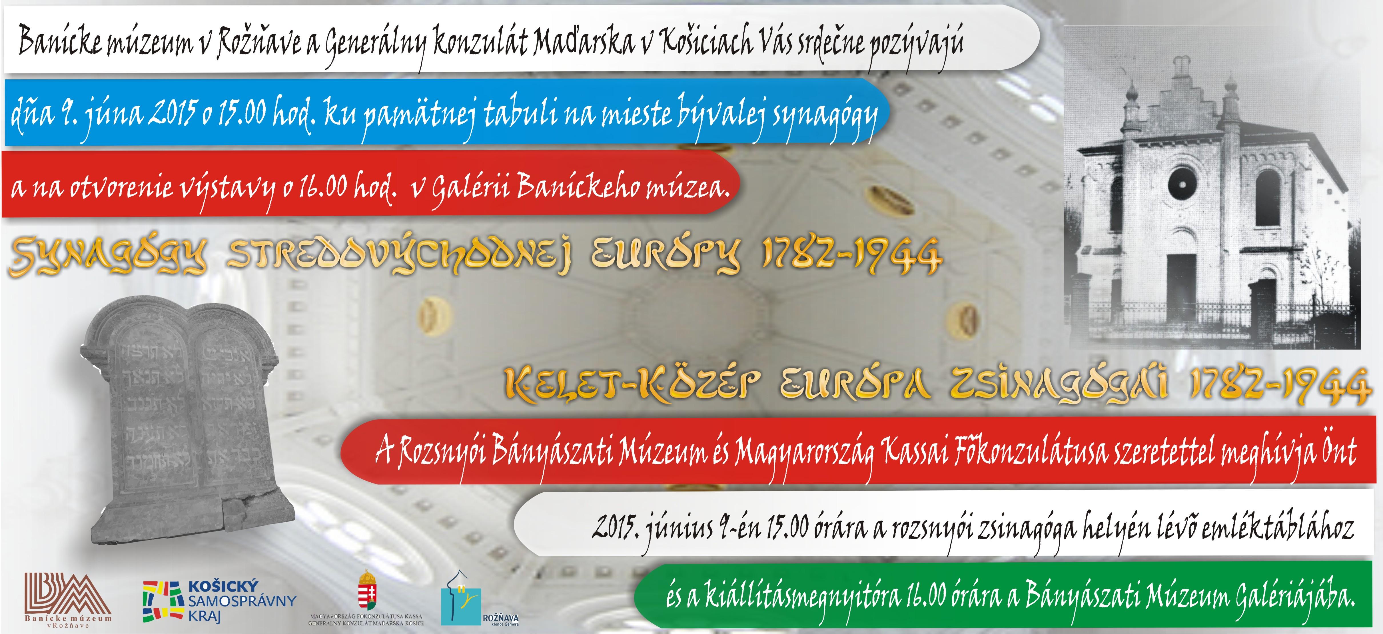 Synagogy pozvanka