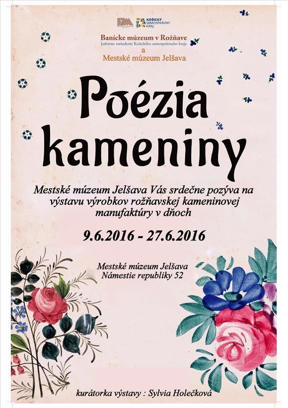 Jelšava - plagát