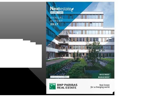 Rapport annuel Nextestate Income Fund de BNP Paribas REIM Luxembourg