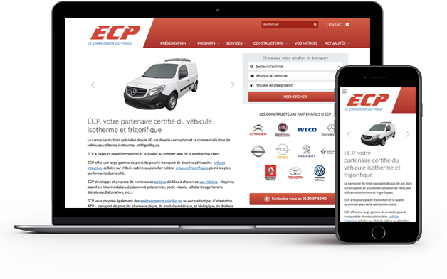 Site internet ECP