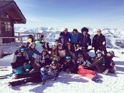 Best Group Skiing Holidays Courchevel