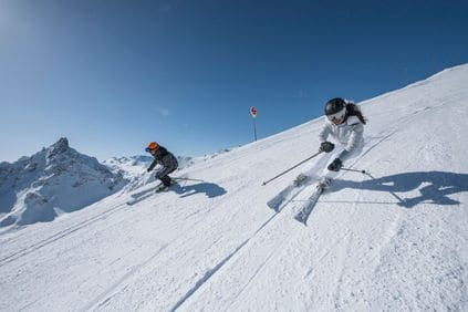 When to ski Courchevel