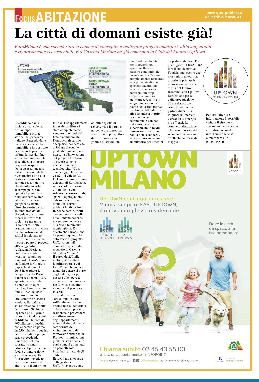 Uptown La Citta Del Futuro E Gia Presente Euromilano