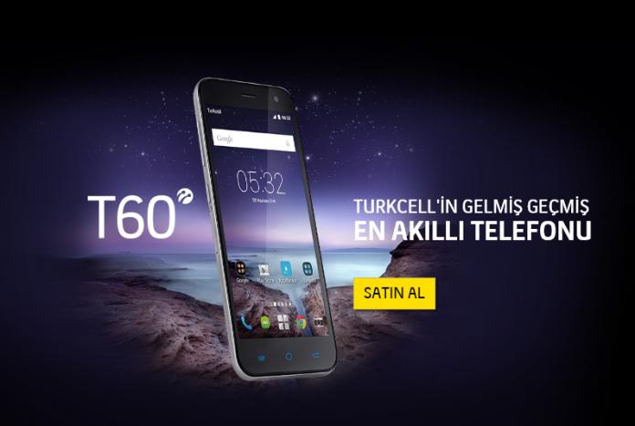 Turkcell T60 Akıllı Telefonu