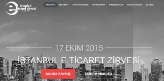 İstanbul E-Ticaret Zirvesi 2015