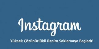 Instagram - Yüksek Çözünürlüklü Resim