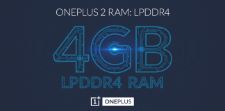 OnePlus 2 RAM: LPDDR4
