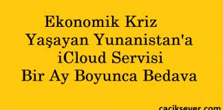 Yunanistan'da iCloud Servisi Bedava