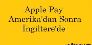 Apple Pay İngiltere'de