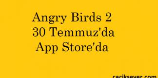 Angry Birds 2 30 Temmuzda App Store'da