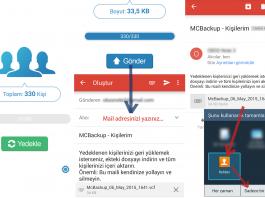 MCBackup - My Contacts Backup - Telefon Değiştirdiğinizde Rehberinizi Rahatlıkla Taşıyın