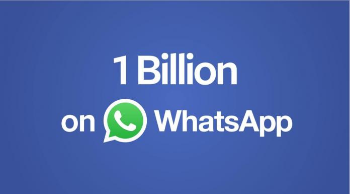 WhatsApp Aylık 1 Milyar Kullanıcıya Ulaştı