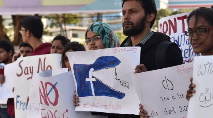 Hindistan'da Karar Alındı Facebook Ücretsiz İnternet Yasaklandı