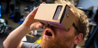 Google Cardboard VR Google Store' da satışa sunuldu.