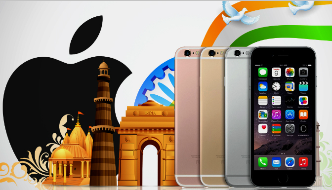 Apple'dan Hindistan'a Destek