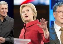 Bill Gates ve Tim Cook - Hillary Clinton için Başkan Yardımcılığına mı Düşünülüyor?