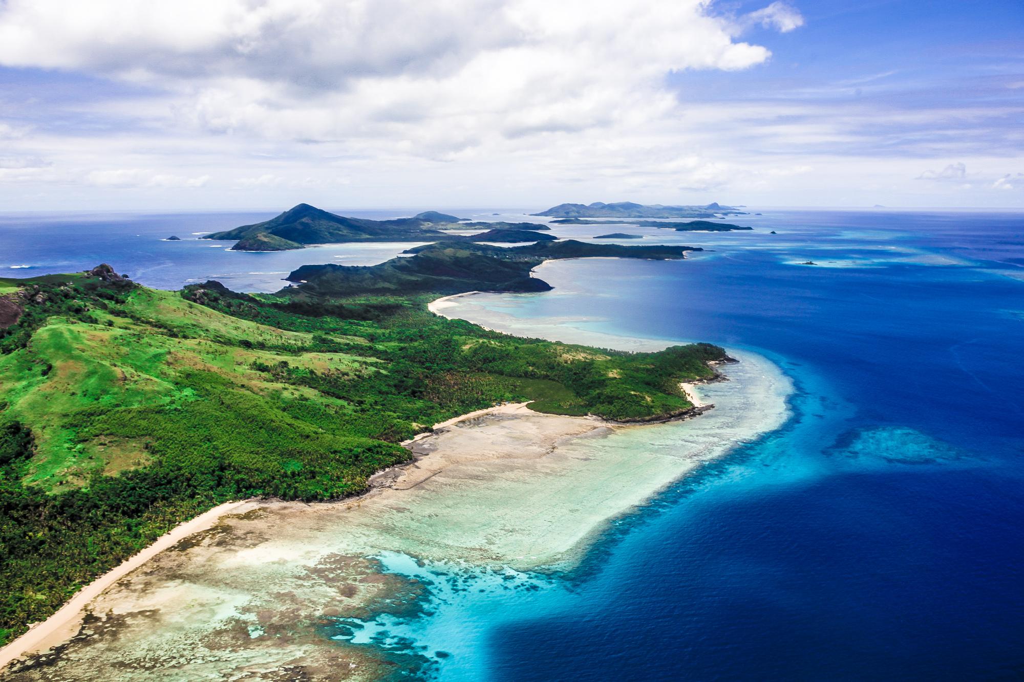 Vanua Levu and Navadra Islands, Fiji  № 824139 без смс
