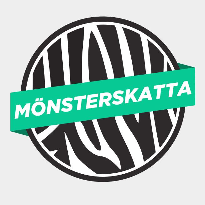 Mönsterskatta logotyp