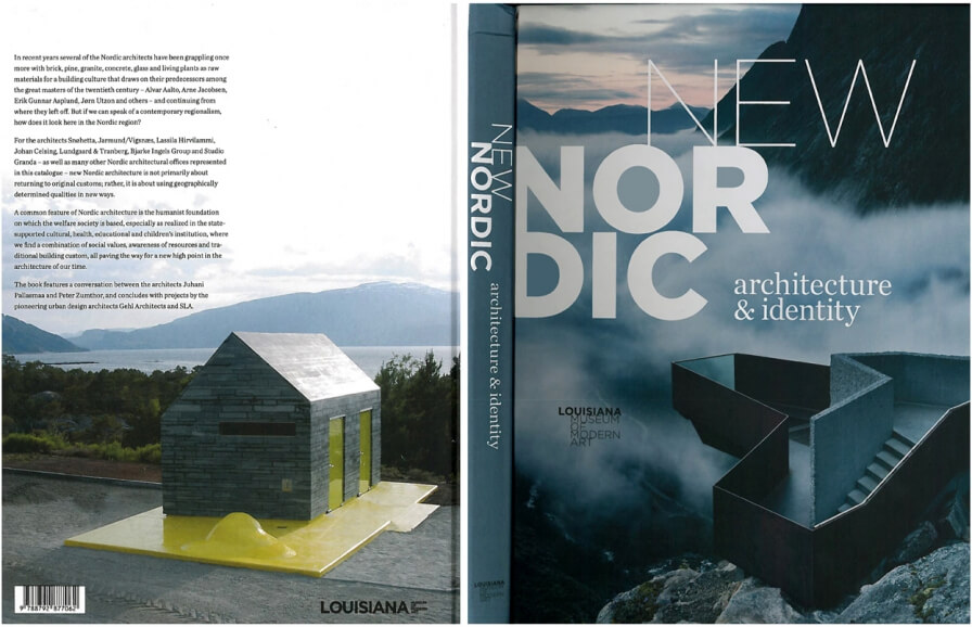 "Front cover : 3RW's Hereiane – Museum of modern art,  Louisiana  : ""New Nordic ; architecture & identity"""
