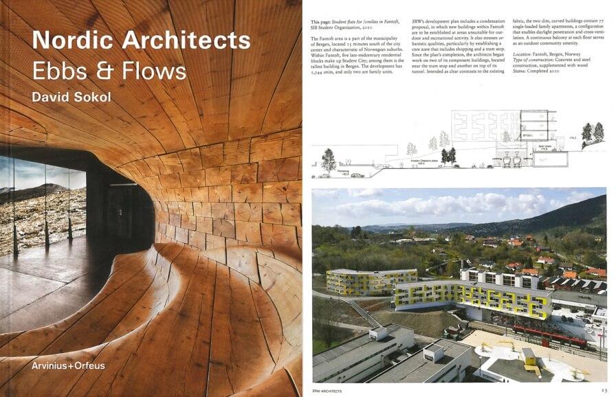 "Hereiane & studenthouses at Fantoft + Grønneviksøren is present in the new book ""Nordic Architects – Ebbs & Flows"""