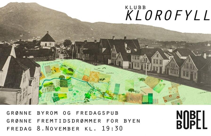 """Sixten Rahlff foreleser på Klubb Klorofyll om """"Grønne fremtidsdrømmer for byen"""" ."""