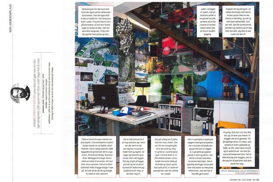 Espen Rahlff in D2 magazine!